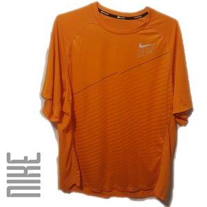 Nike Dr-Fit Neon Orange Running Shirt